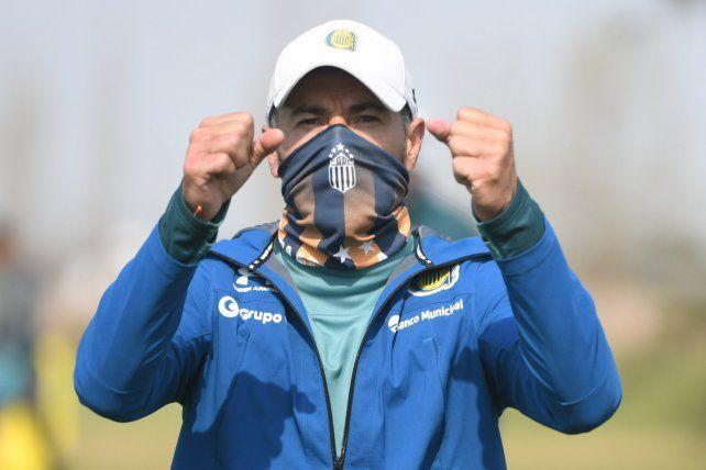 El Kily González derrocha optimismo en la previa del estreno ante Godoy Cruz como entrenador de Central.