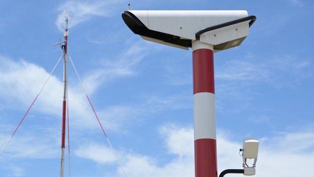 Instalan un nuevo sistema de observación meteorológica en el aeropuerto de Rosario