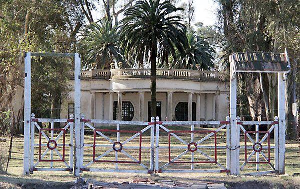 Casco. La estancia El Carmen está ubicada en jurisdicción de San Mariano