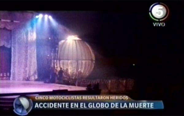 El Circo Rodas está ubicado en 27 de Febrero y Oroño.