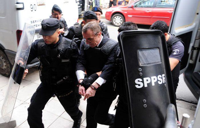 El exjefe policial fue condenado a seis años de prisión.