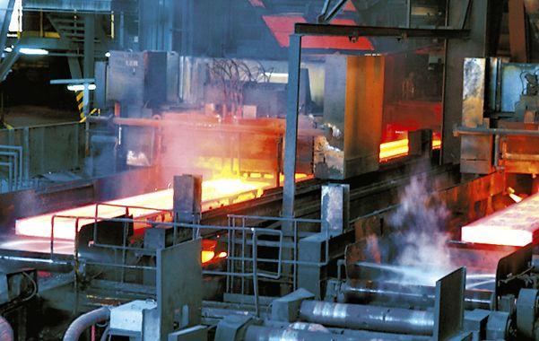 Acero. La producción siderúrgica se recuperó y aumentó un 34