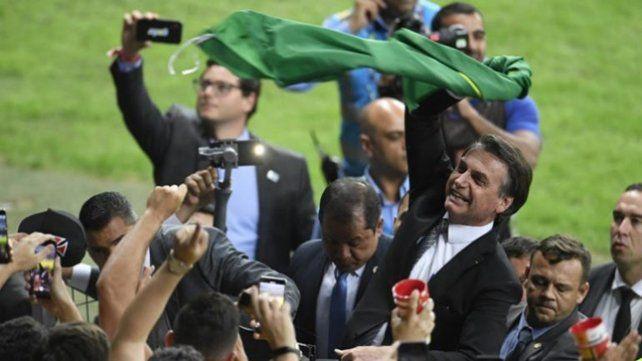 Polémico. Es el mismo protocolo de seguridad de la Copa Libertadores