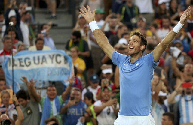 Del Potrofue protagonista de los dos mejores partidos de tenis del año