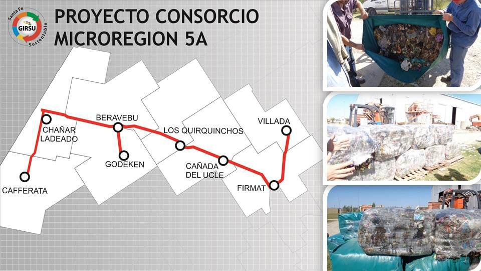 La Microrregion 5A. Ocho comunas y municipios