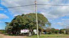 La chacra de San Nicolás, junto a la autopista Rosario-Buenos Aires, donde mataron a Donato.