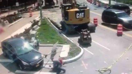 Impactante: le pasó por encima con su auto al asesino de su novia