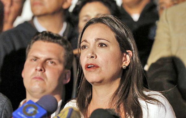 """No se calla. María Corina Machado dijo que """"es hora que los órganos de la OEA hagan su trabajo"""