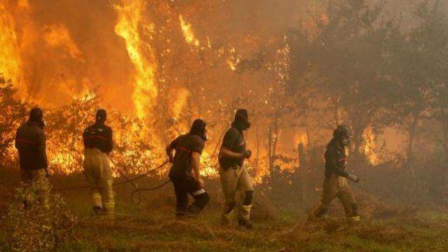 Dos muertos por incendios intencionales en España
