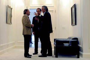 Kirchner renunció a la presidencia del PJ y en su lugar asume Scioli