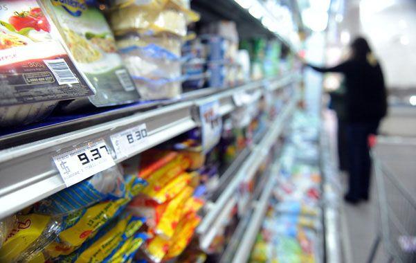 En los súper. Los productos para la alimentación siguen registrando alzas.