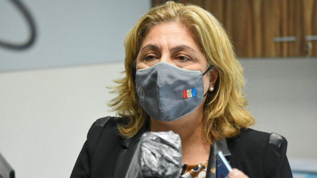 La ministra de Salud de la provincia de Santa Fe, Sonia Martorano.