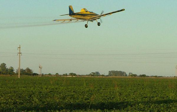 Alcance. En Entre Ríos se debate fuertemente las distancias mínimas para las aspersiones con agroquímicos.