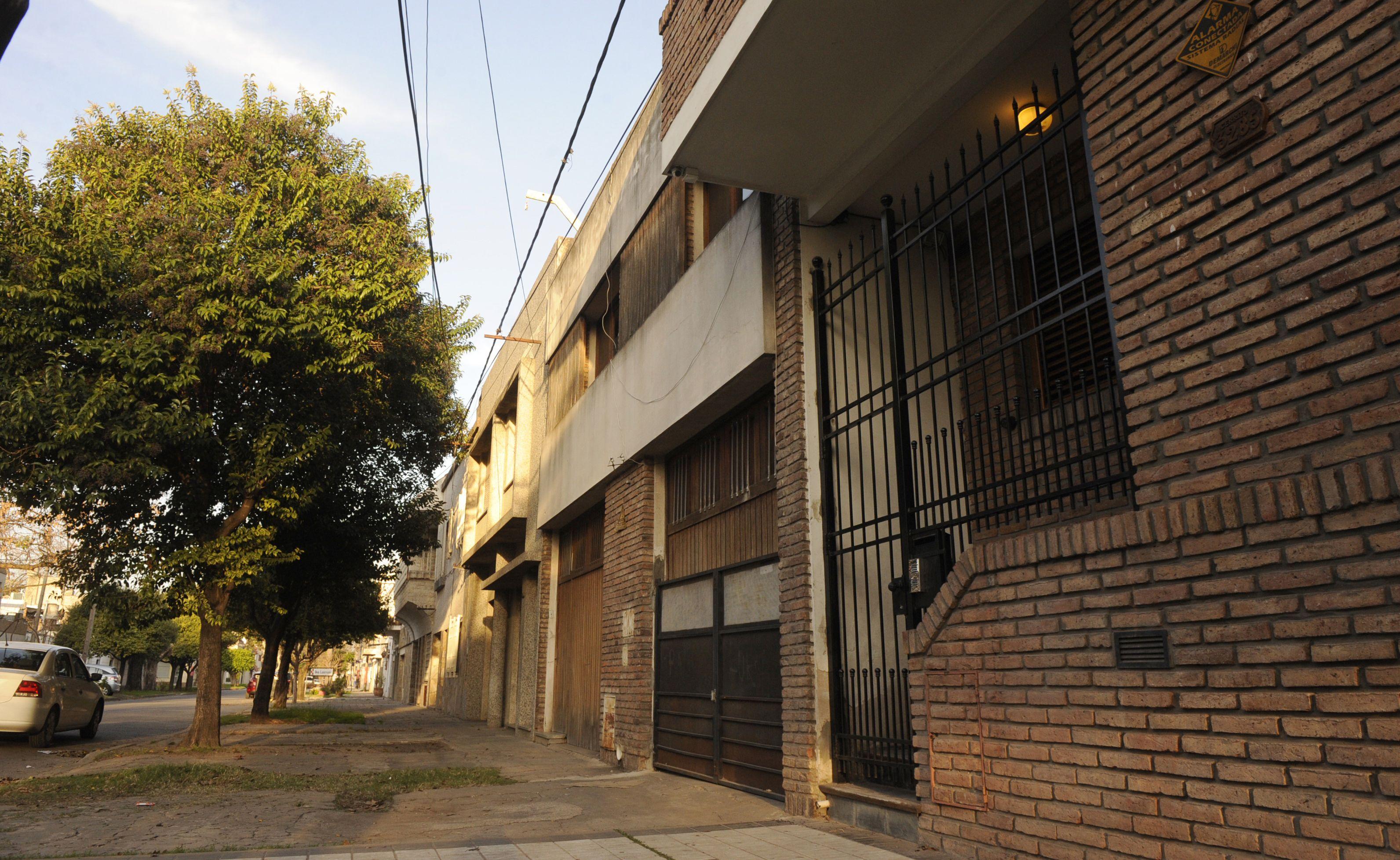 Con las llaves. Ninguna de las aberturas de la casa de Cerrito al 3200 fue violentada por los maleantes.