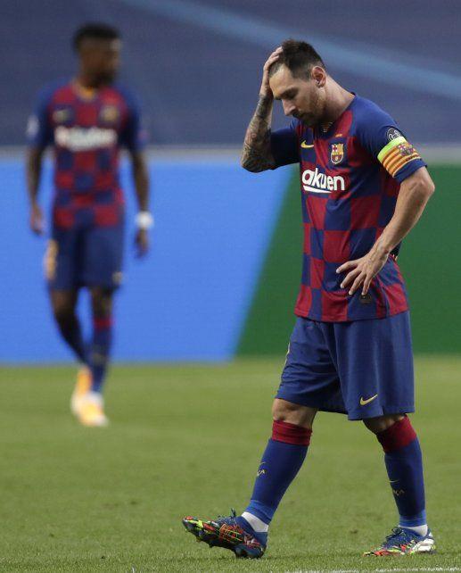 Leo Messi anunció su salida de Barcelona.