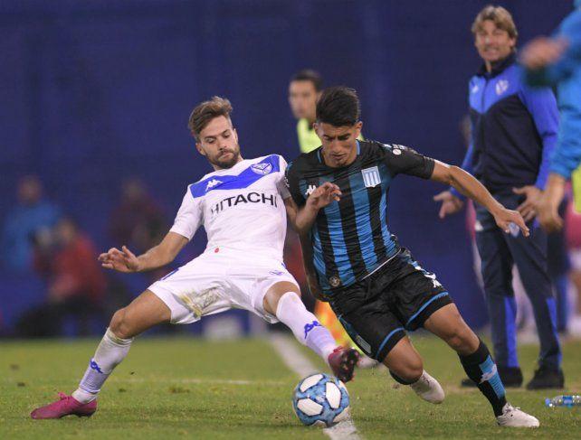 Vélez y Racing ofrecieron un vibrante empate