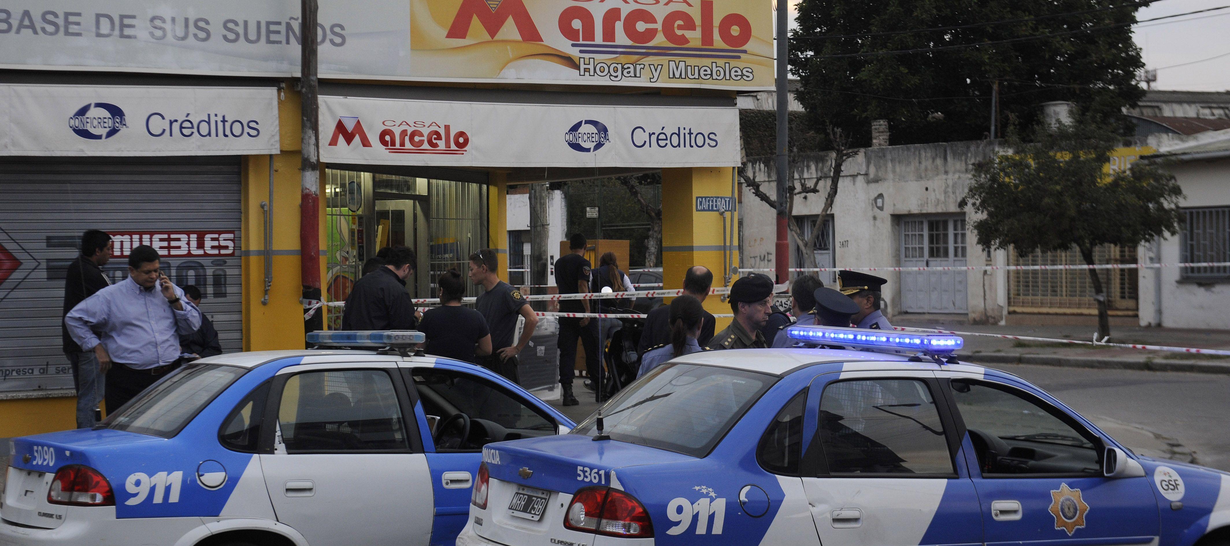 La esquina de Biedma y Cafferata donde sucedió el tiroteo. (Foto: Virginia Benedetto)