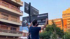 Habrá una placa en homenaje a Maradona en Segurola y Habana