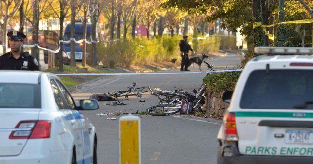 Las bicicletas destruidas