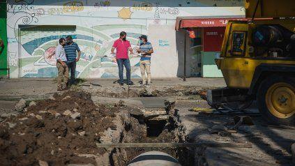 Se conoció la causa de las roturas permanentes de la calle en Ramírez y Colón