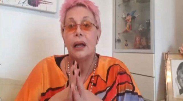 Carmen Barbieri se bajó del Cantando 2020 por una parálisis facial