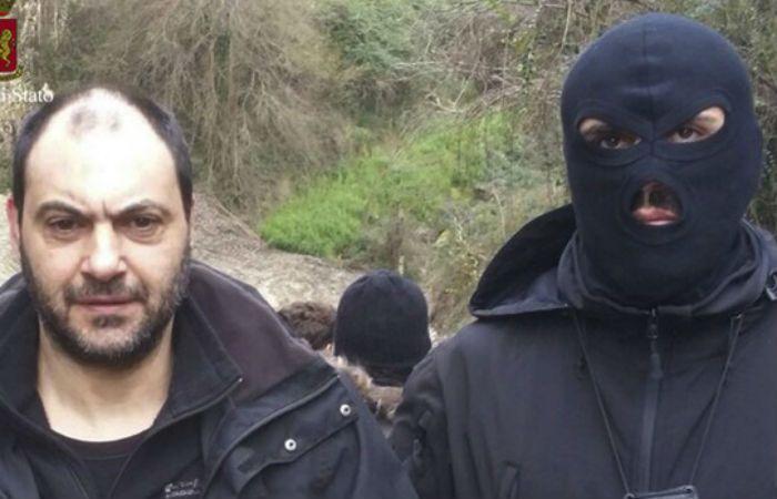 Peligrosos. Giuseppe Ferraro estuvo 18 años prófugo.