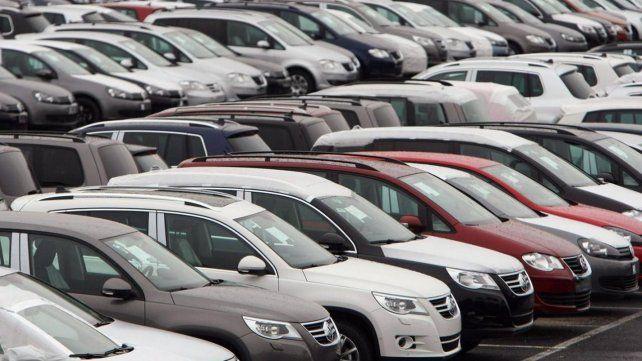 La venta de autos se derrumbó