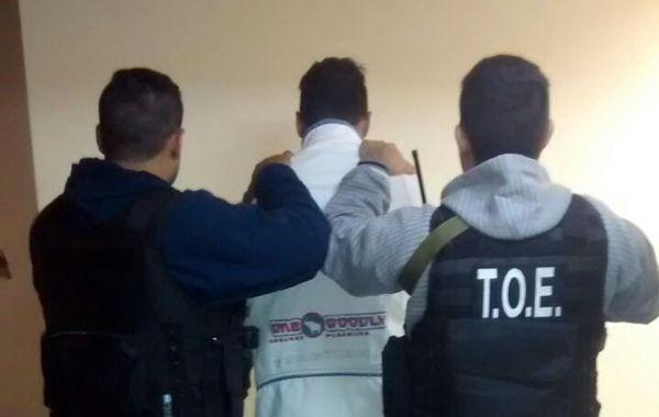 Las TOE detuvieron en Casilda a Fabricio Matías A.
