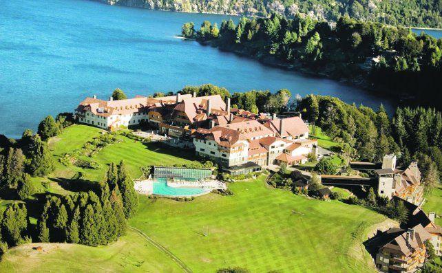 Un ícono de Bariloche. El Llao Llao es uno de los mejores hoteles del mundo