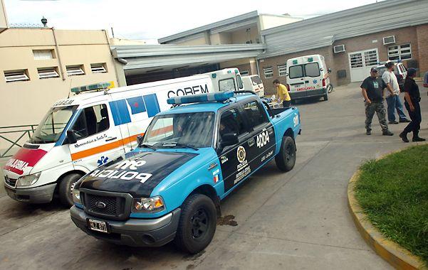 Los heridos fueron llevados al Hospital Cullen de la capital provincial. (Gentileza Diario Uno Santa Fe)