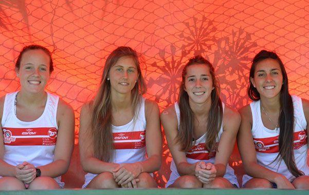 Las cuatro referentes y baluartes de Provincial.(Foto: S.Salinas)