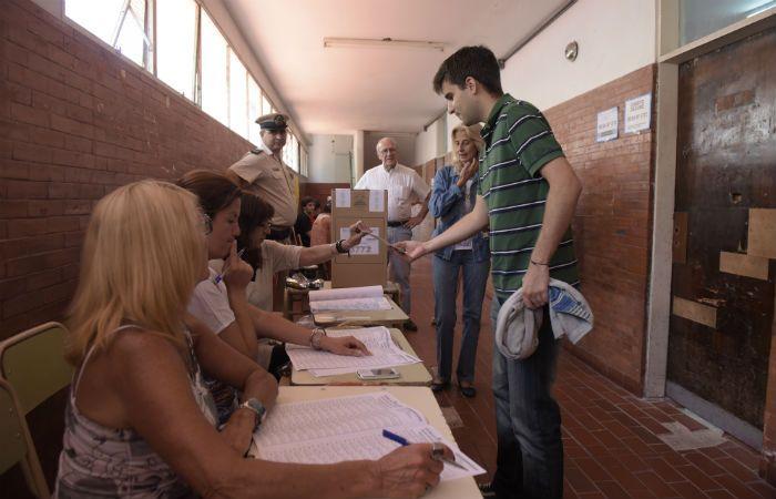 Los jóvenes dijeron presente en el ballotage. (Foto: S. Suárez Meccia)