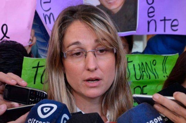 La fiscal Melisa Serena fue imputada pero sigue en libertad y en funciones mientras avanza la causa.