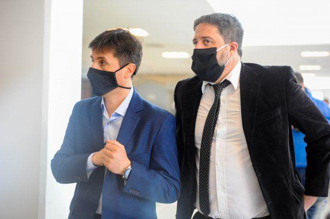 Los fiscales Luis Schiappa Pietra y Matías Edery.