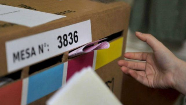 Primer turno. El 12 de septiembre serán las primarias provinciales.