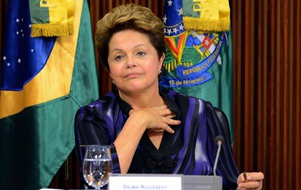 Comprensión. Dilma mostró reflejos y legitimó ampliamente a los manifestantes. Luego se reunió con los jóvenes.