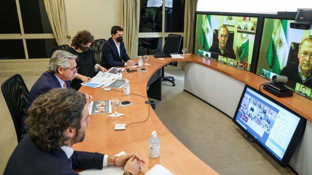 Alberto Fernández define la nueva etapa del aislamiento mirando a las provincias