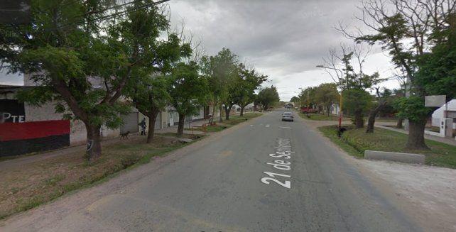 La policía detuvo al agresor de 40 años en una propiedad de calle 21 de Septiembre al 200 del barrio San Fernando.