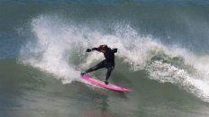 Cocó Cianciarulo es el líder en el surf argentino.