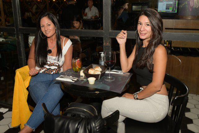 Romina Pire y Juli Acevedo