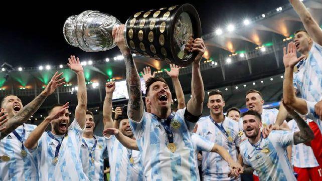 El Campeón para el campeón. La selección argentina estrenará tema oficial en la previa del partido con Bolivia este jueves.