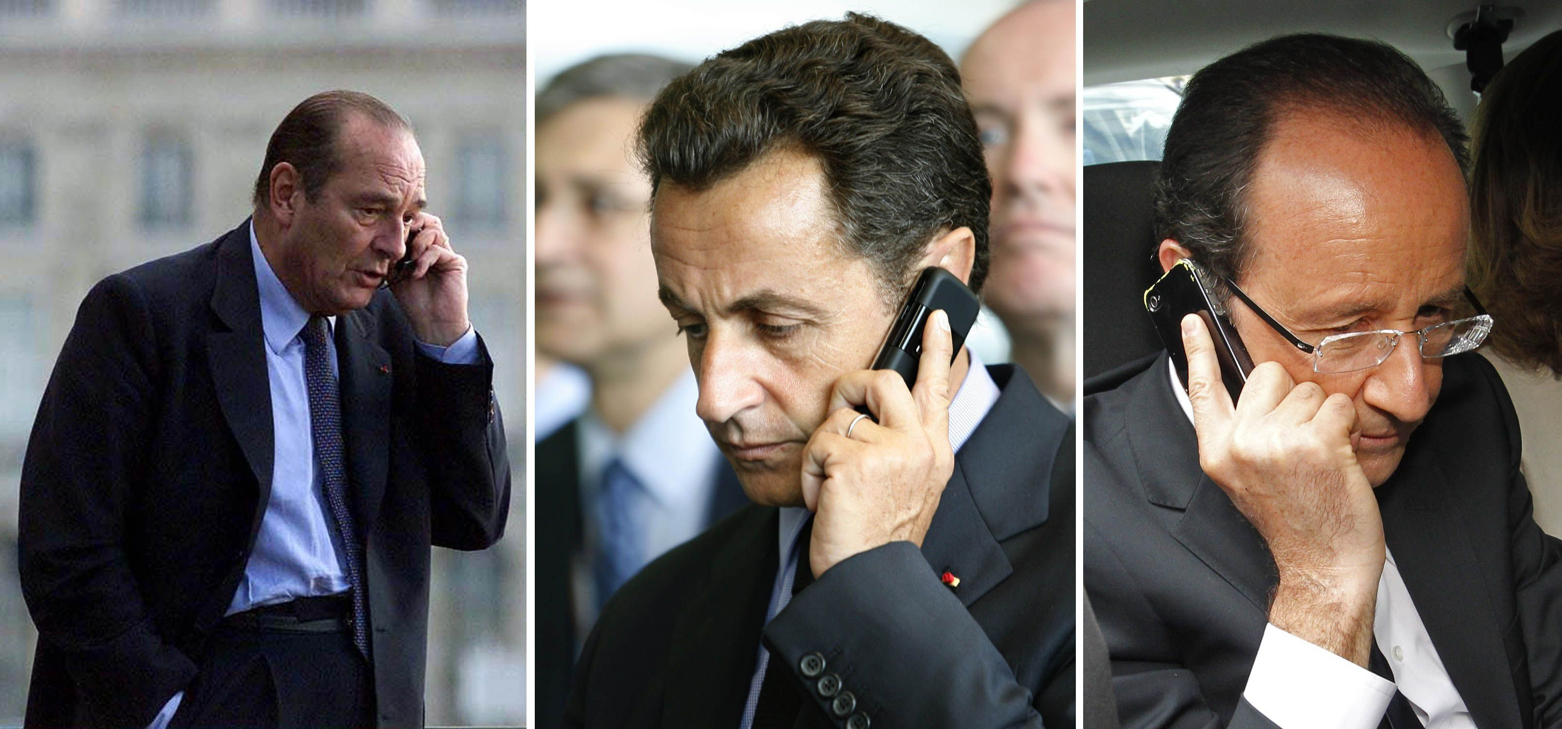En la mira. Las conversaciones de Chirac
