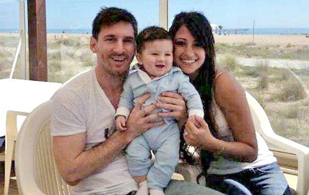 Foto de familia. Lionel Messi