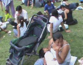 La CCC vuelve al acampe en la plaza San Martín con sus reclamos sociales