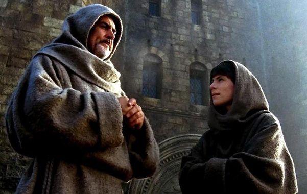 Protagonista. Sean Connery en el papel del monje Guillermo de Baskerville