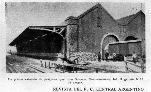 La primera estación de Rosario