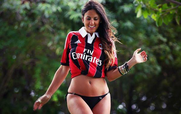 La modelo Claudia Romani tiene 32 años y quiere dirigir la Serie A italiana.