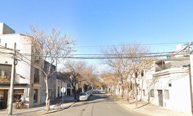 El atraco y posterior balacera ocurrió el martes a la tarde en el barrio delAbasto.
