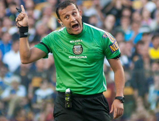 Darío Herrera expulsò al tècnico canalla.