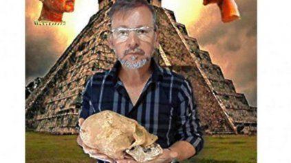Alvaro Juan Aparicio Díaz, el línder de la organización. Se hacía llamar Licenciado Ahú Sari Merek.
